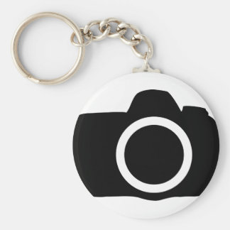 SLR-Kameraikone Schlüsselanhänger