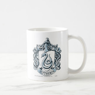 Slytherin Wappen-Blau Tasse