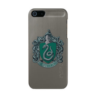 Slytherin Wappen-Grün Incipio Feather® Shine iPhone 5 Hülle