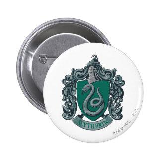 Slytherin Wappen-Grün Runder Button 5,1 Cm