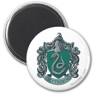Slytherin Wappen-Grün Runder Magnet 5,7 Cm