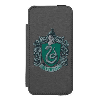 Slytherin Wappen-Grün Incipio Watson™ iPhone 5 Geldbörsen Hülle