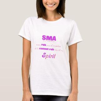 SMA kann nicht Rob mein rosa u. lila Geist - T-Shirt