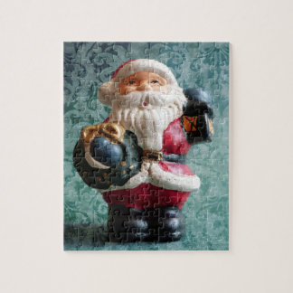 Small Santa Claus figure Puzzle
