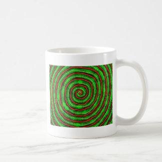 Smaragd-Spirale Kaffeetasse