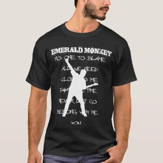 Smaragdaffe Retro EP-Shirt! T-Shirt