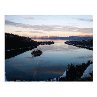 Smaragdbucht, Lake- Tahoepostkarte Postkarte