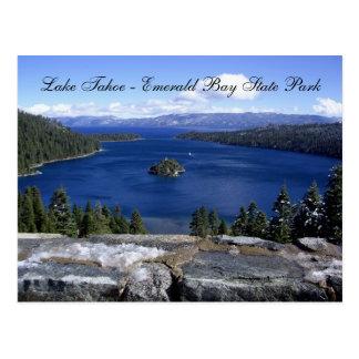 Smaragdbucht-Staat Park Lake Tahoe - Postkarte