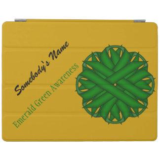 Smaragdgrün-Blumen-Band durch Kenneth Yoncich iPad Smart Cover