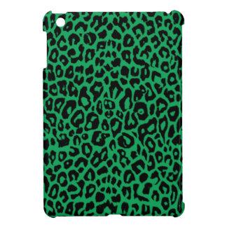 Smaragdgrün-Leopard-Tierhäute iPad Mini Hülle
