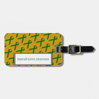 Smaragdgrün-Standardband durch Kenneth Yoncich Kofferanhänger