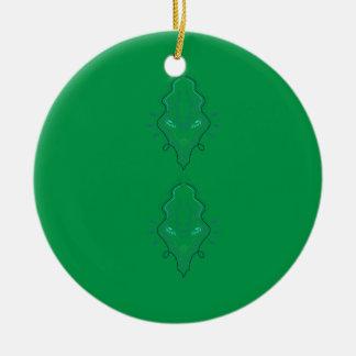 Smaragdgrünentwurf Keramik Ornament