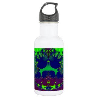 Smaragdkronenjuwel-Fraktal Trinkflasche