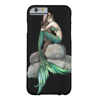 Smaragdmeerjungfrau-Fantasie-Kunst Barely There iPhone 6 Hülle