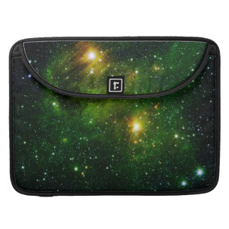 Smaragdnebelfleck Sleeve Für MacBook Pro