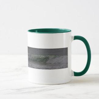 Smaragdoregon-Brandung Tasse
