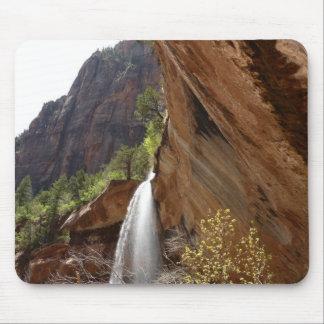 Smaragdpool fällt III von Zion Nationalpark Mousepad