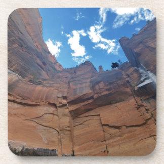 Smaragdpools, die Felsen Zion Nationalpark weinen Untersetzer
