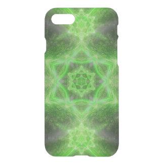 Smaragdstern-Mandala iPhone 8/7 Hülle