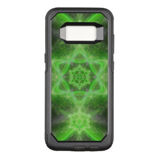 Smaragdstern-Mandala OtterBox Commuter Samsung Galaxy S8 Hülle