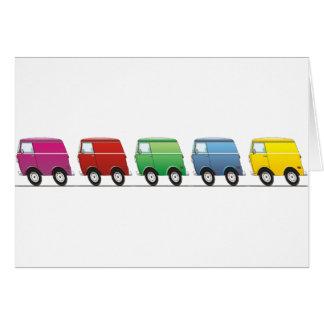 Smart Van Multiple Grußkarte