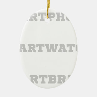 Smartbrain? Keramik Ornament
