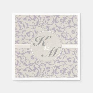SmartElegance Lavendel Hochzeits-Sammlung Papierserviette