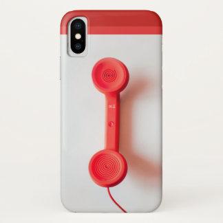Smartphone-Fall im Telefon iPhone X Hülle