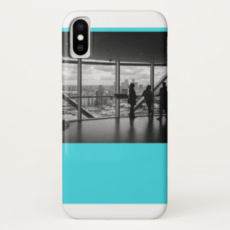 Smartphone-Fall in der Sitzung iPhone X Hülle