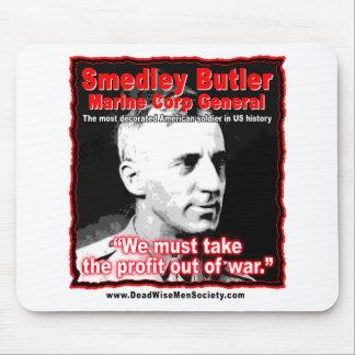 Smedley D. Butler, Gewinn-und Kriegs-Zitat Mousepad