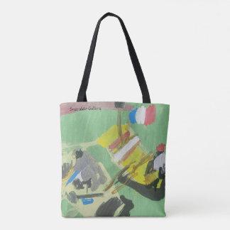 """Smeraldo Galerie """"Quay auf dem Lastkahn """" Tasche"""