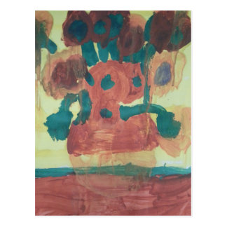 "Smeraldo Galerie ""Sonnenblume-Interpretation "" Postkarte"