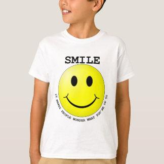 Smiley BELEUCHTET TRANSPARENT.png T-Shirt