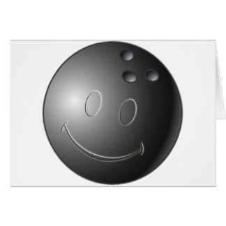 SMILEY-BOWLINGS-BALL KARTE
