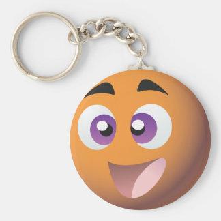 Smiley! BRITISCHE Bingo-Werbeaktion-Waren Standard Runder Schlüsselanhänger