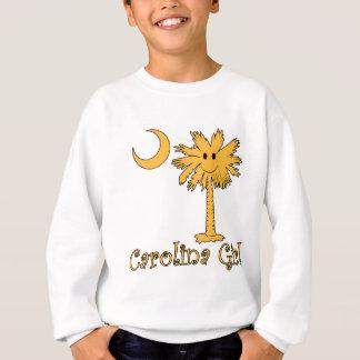 Smiley-Carolina-Mädchen Sweatshirt