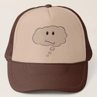 Smiley denken Blasen-Hut Truckerkappe