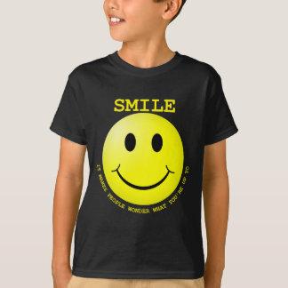 Smiley DUNKELHEITEN TRANSPARENT.png T-Shirt