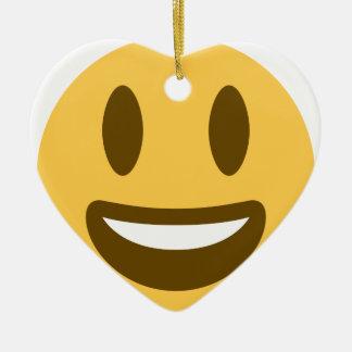 Smiley Emoji Twitter Keramik Ornament