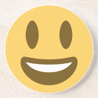 Smiley Emoji Twitter Sandstein Untersetzer
