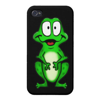 Smiley-Frosch iPhone 4 Case