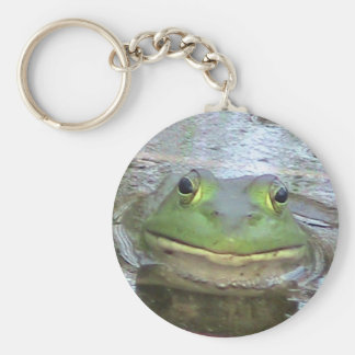 Smiley-Frosch Keychain Schlüsselanhänger
