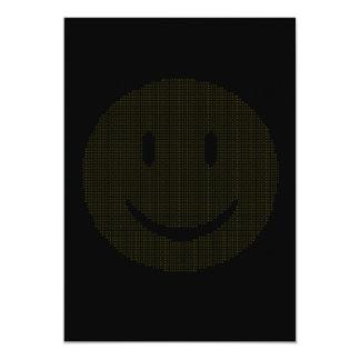 Smiley gemacht von den Smiley Karte