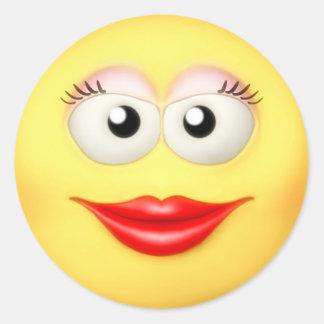 Smiley Aufkleber