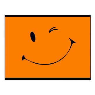 Smiley - Halloween-Ausgabe Postkarte