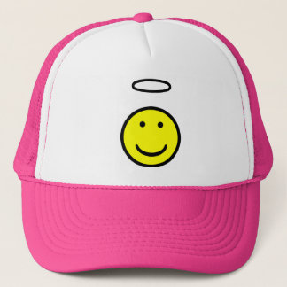 Smiley-Halo Truckerkappe