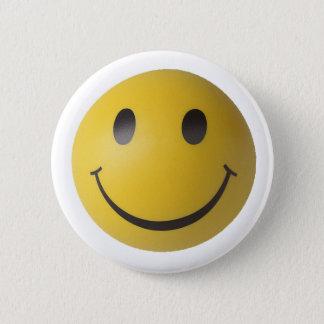 Smiley-intelligenter Ausdruck Smilie Runder Button 5,7 Cm