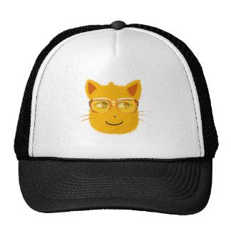 Smiley-Katze mit sunglass Retrokult Cap
