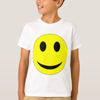 Smiley-Kleid T-Shirt