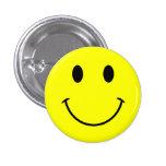 Smiley-Knopf Anstecknadel